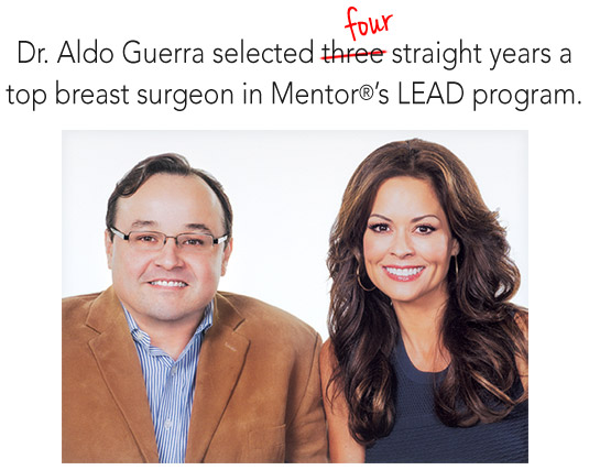 Dr. Aldo Guerra and Brook Burke