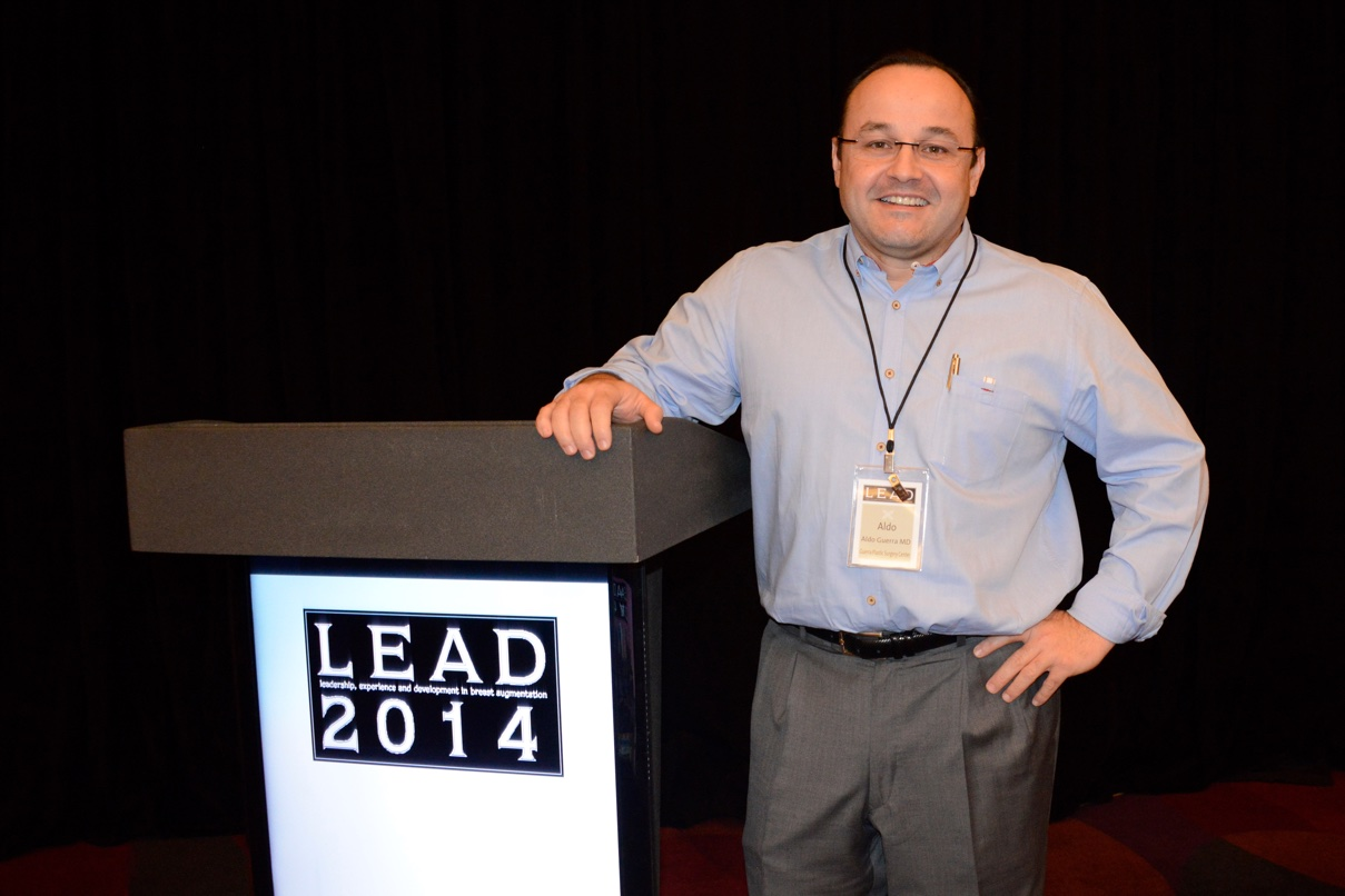 Dr. Aldo Guerra at LEAD 2014 photo
