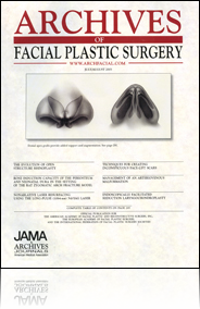 Archives of Facial Plastic Surgery cover