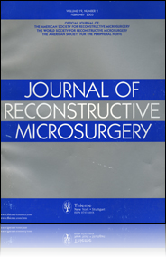 Journal of Reconstructive Microsurgery cover